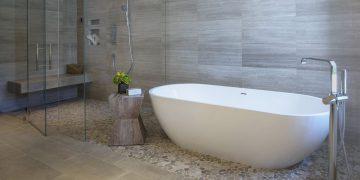 Bồn tắm oval, kiểu dáng bồn tắm hiện đại