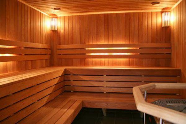 Phòng xông hơi bằng gỗ